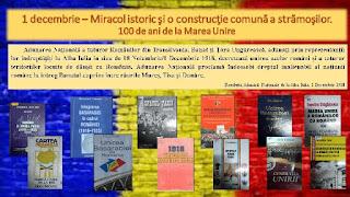 expoziţia tematică 1 decembrie – Miracol istoric şi o construcţie comună a strămoşilor