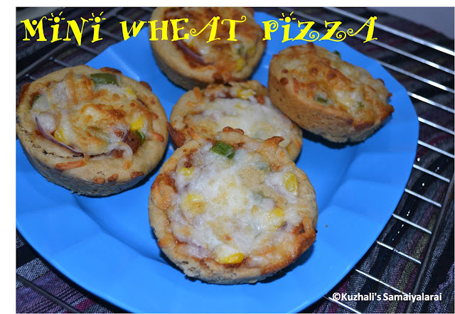 MINI PIZZA RECIPE USING WHEAT FLOUR- WITH PIZZA DOUGH RECIPE USING YEAST