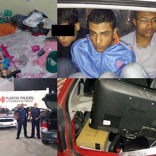 GCM de Embu das Artes prende em flagrante bandidos que mantinha mulher grávida e a família reféns no Júlia
