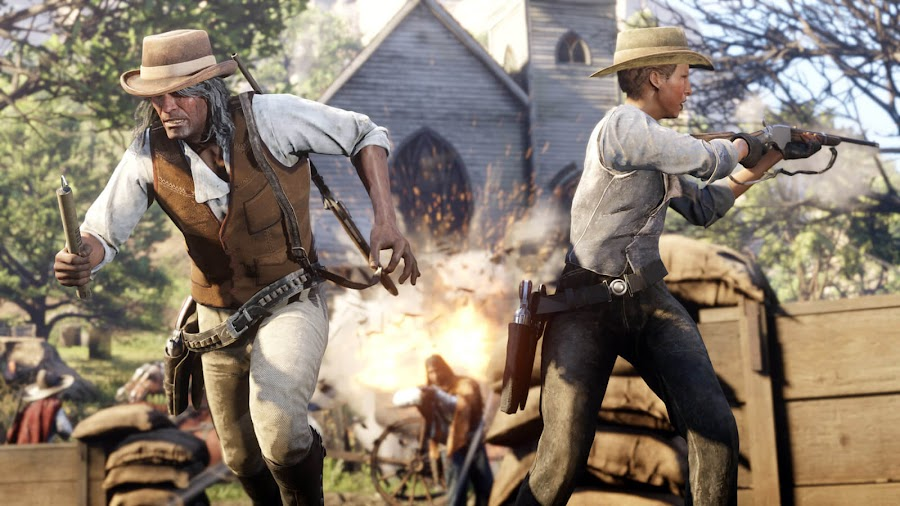 red dead online update rockstar games ps4 xb1 co-op missions