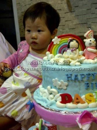 Kue Ulang Tahun Anak 3 Tier Hello Kitty Cake N Cupcake