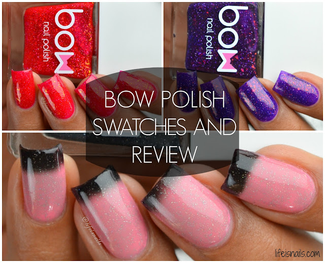 Bow polish swatches