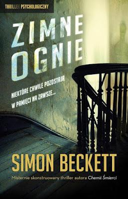 """Simon Beckett """"Zimne ognie"""""""