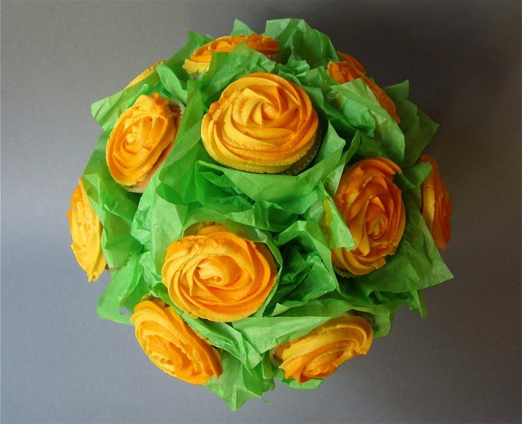 Cupcake-Blumenstrauß 2