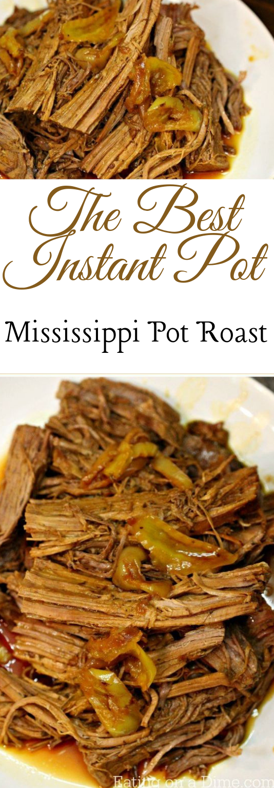 MISSISSIPPI POT ROAST PRESSURE COOKER  #dinner #lunch