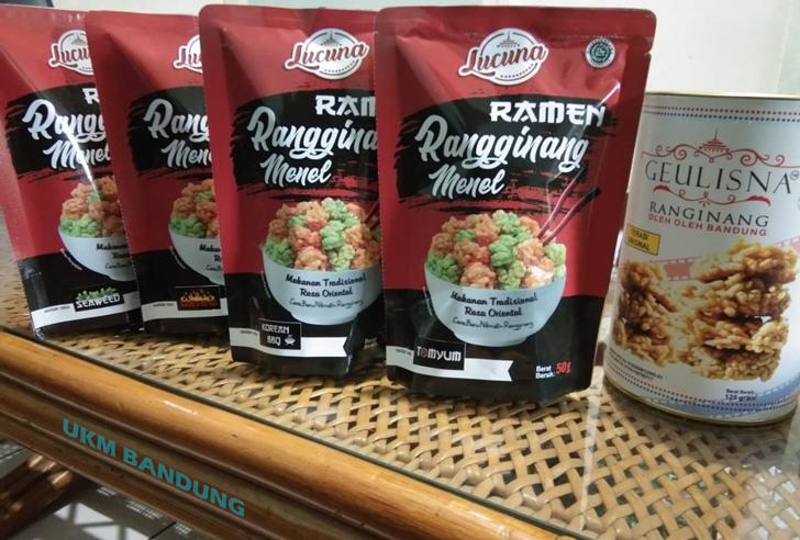 "Ramen ~ Rangginang Menel ""Lucuna"""