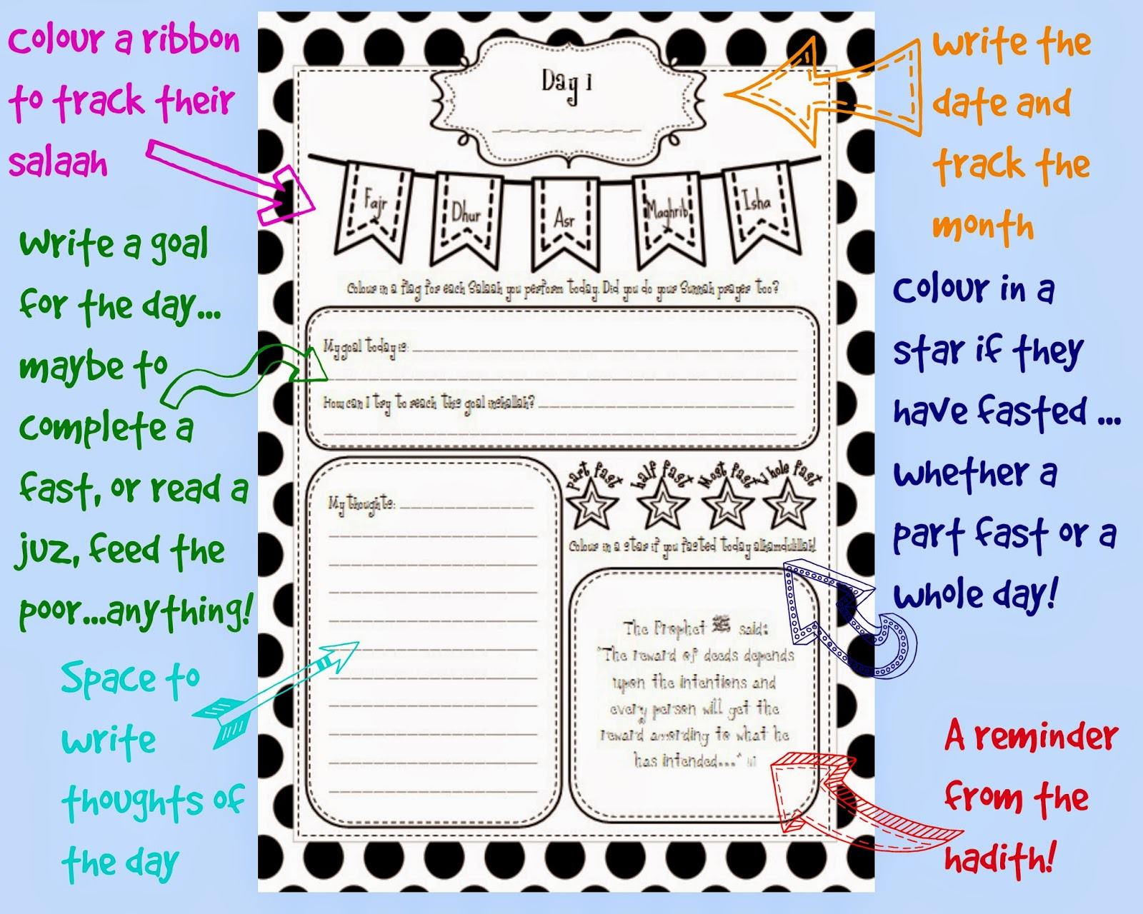 Ramadan Printables Worksheets For Kindergarteners Ramadan