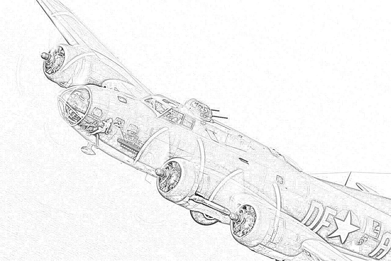 world war ii in pictures coloring pages world war ii bombers