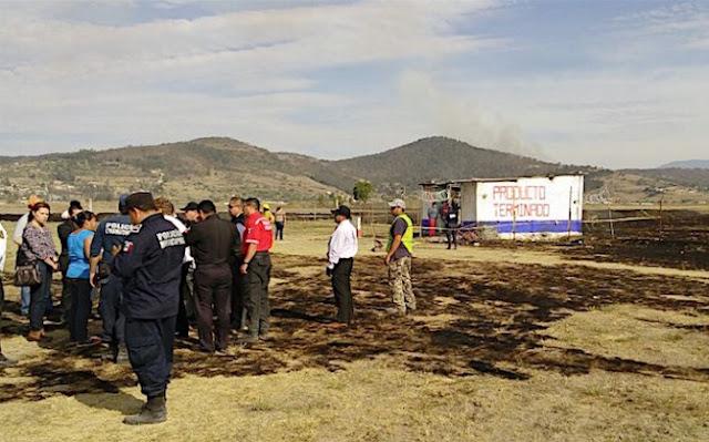 Polvorín Acambay, noticias México