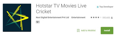 t20 World Cup 2016 Live Telecast on Hotstar Mobile App