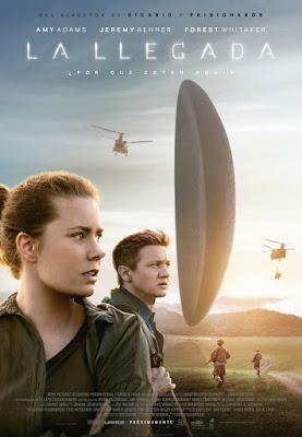 LA LLEGADA (Arrival) - poster español de la película