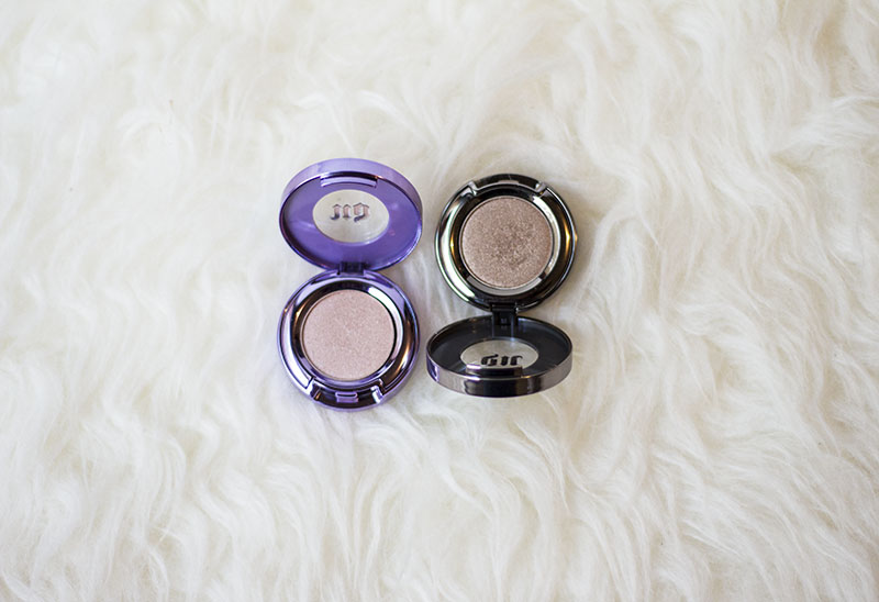 "urban decay eyeshadow ""suspect"" & ""midnight cowboy"""