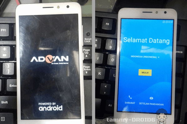 Upgrade Firmware PAC Advan S5E 4GS Terbaru