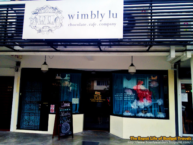 bowdywanders.com Singapore Travel Blog Philippines Photo :: Singapore :: Wimbly Lu Chocolate Cafe, Jalan Riang