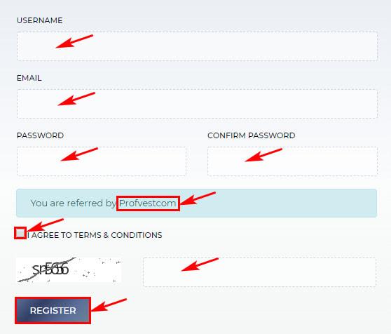 Регистрация в Abija Trade 2