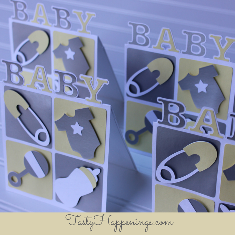 baby shower card card
