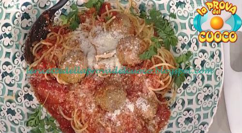 Spaghetti and meatballs ricetta Messeri da Prova del Cuoco