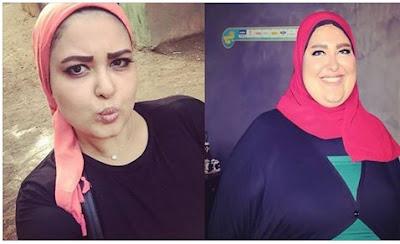 الفنانة دعاء رجب تخرج عن صمتها وتقول السر فى ريجيم أنقاص وزنها