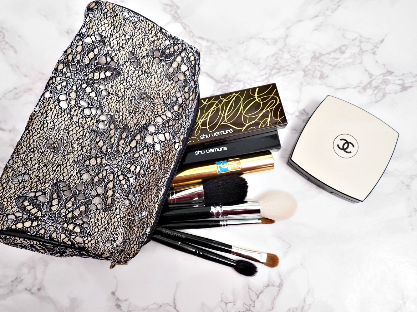 Holiday makeup bag-1