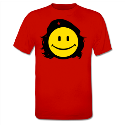 http://www.shirtcity.es/shop/solopiensoencamisetas/che-smiley-camiseta-2305