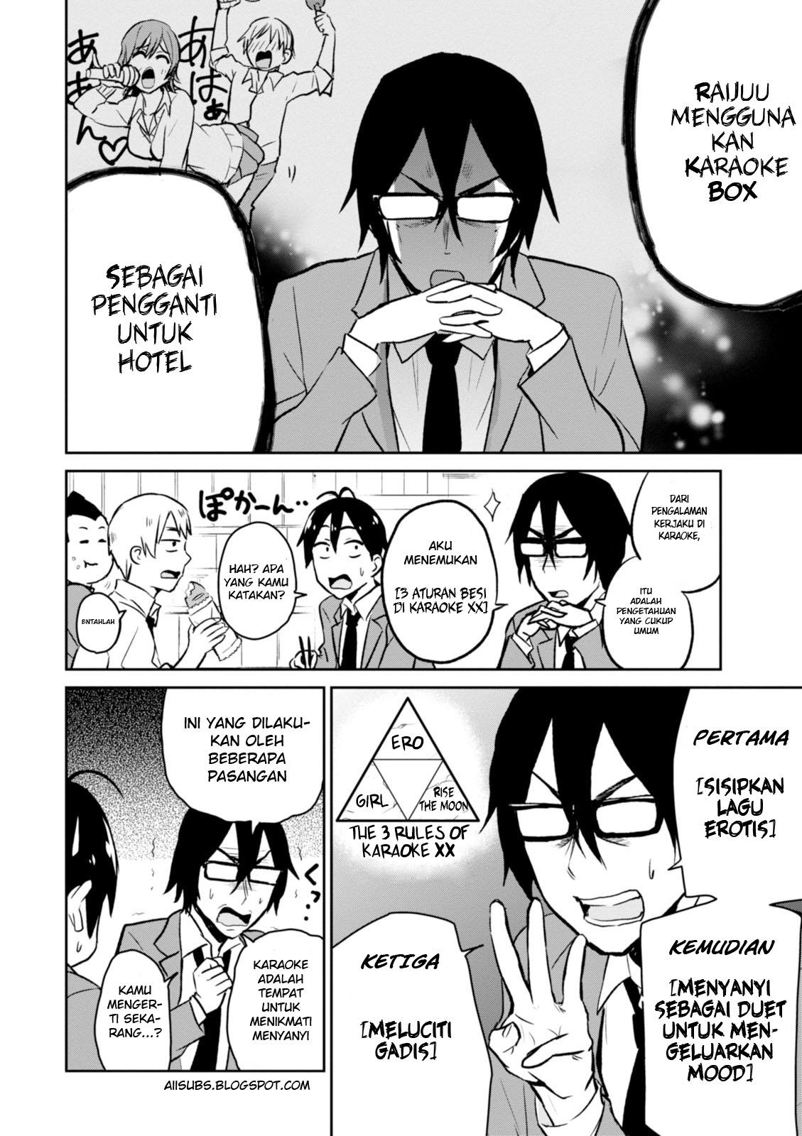 Hajimete No Gal Chapter 6 Bahasa Indonesia