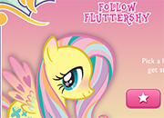 MLP Follow Fluttershy juego