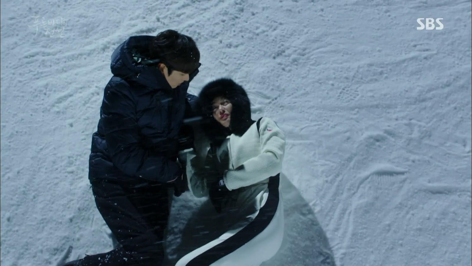Screenshot Joon Jea And Cheong Yi Very Sweet Moment Scene The Legend Of The Blu Sea (2016)  1080p Episode 07 - www.uchiha-uzuma.com