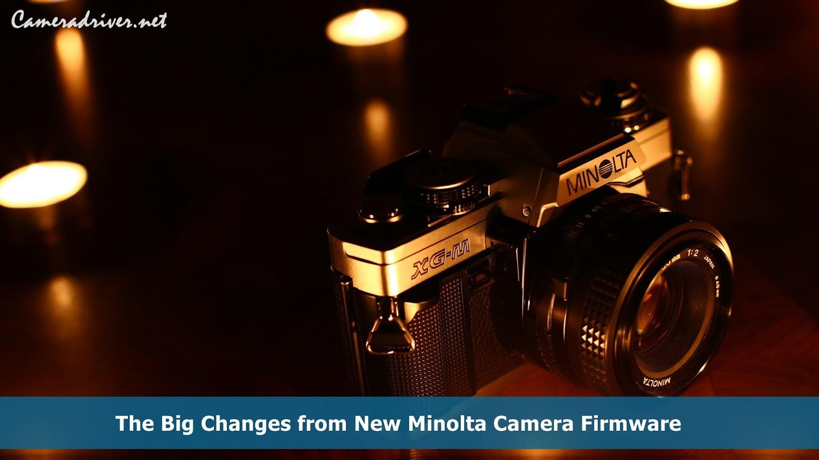 Minolta Camera Firmware