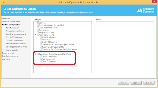 Installing Data Import Export Framework with Comulative Update 7 for Microsoft Dynamics AX 2012 R2