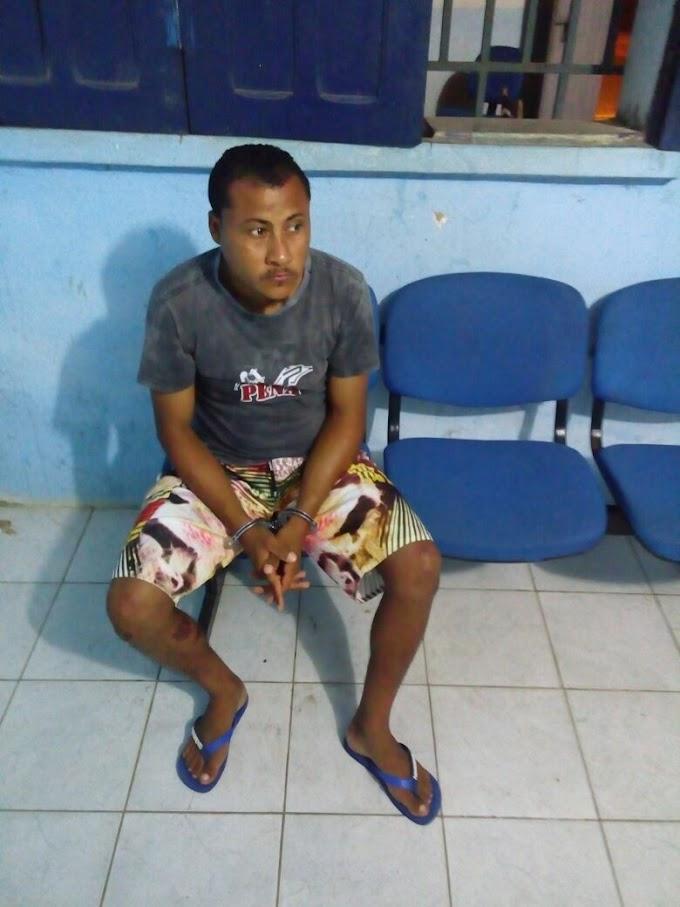 REGIÃO: Homem é preso após matar outro a golpes de faca