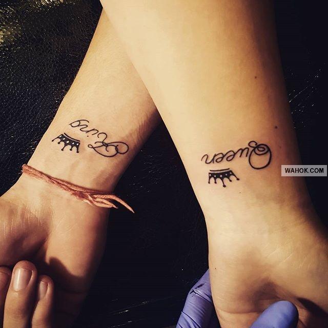 69+ Gambar Tato Raja Ratu / King Queen Tattoos Terbaru Paling Keren Di Lengan Tangan, Punggung