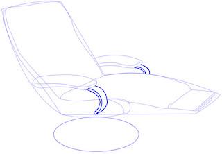 Teknik menggambar Recliner (Sofa)