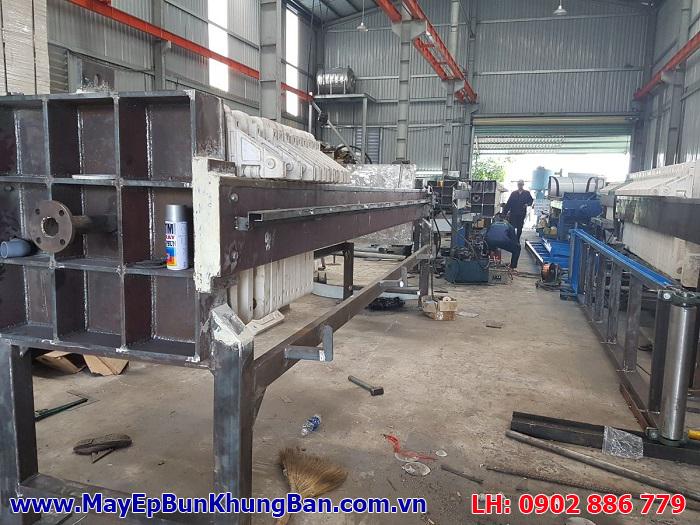 Sản xuất máy ép bùn khung bản tại Việt Nam, giá trị sử dụng thực tế với chi phí đầu tư thấp nhất