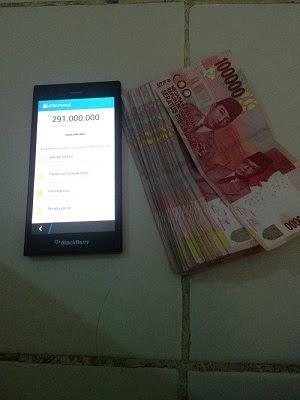 foto Bukti penghasilan ATMPONSEL kiriman dari Reni Membeli Aplikasi ATM PONSEL