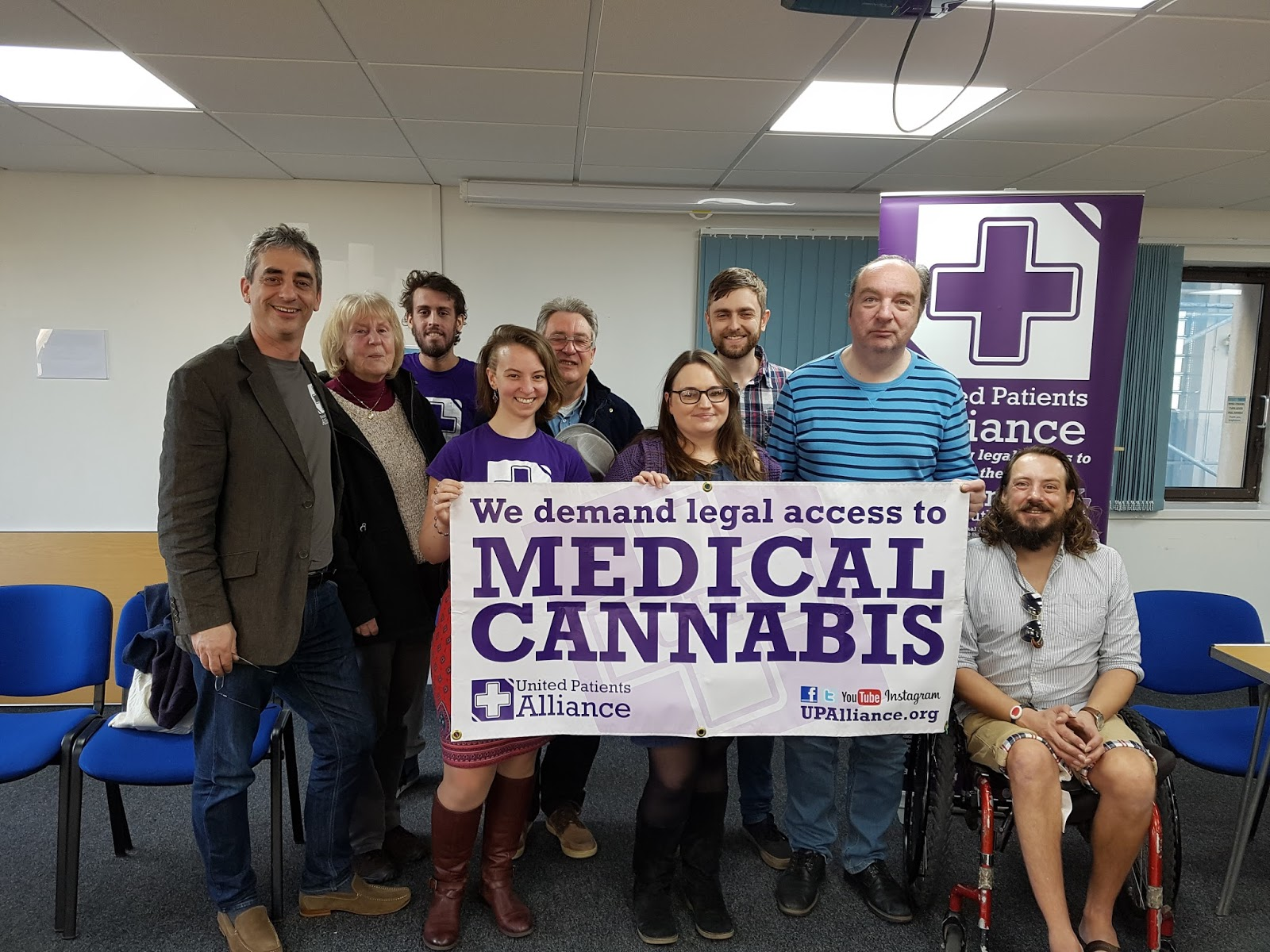Cannabis Patients Alliance: Cannabis Is Medicine: PRESS RELEASE