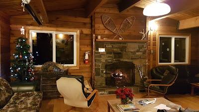 Kananaskis Wilderness Hostel Living Room
