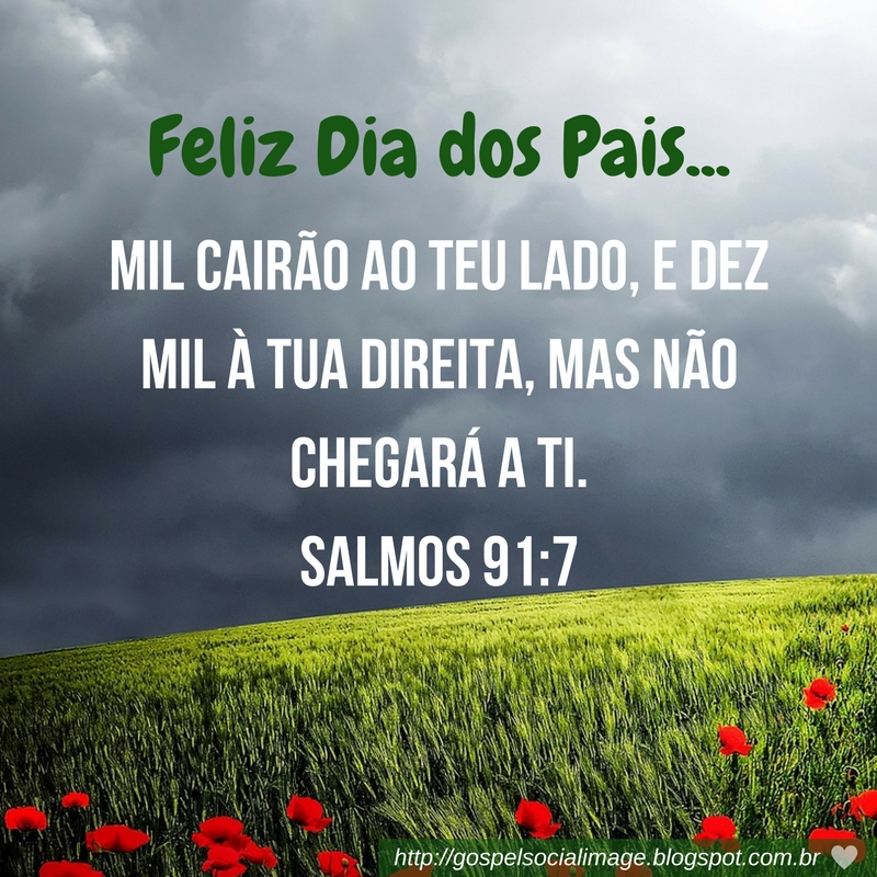 Imagem bíblica mensagem dia dos pais