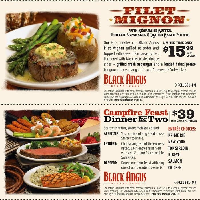 photograph regarding Black Angus Printable Coupons referred to as Black angus steakhouse discount codes printable