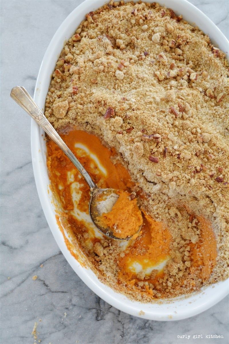 Sweet Potato Casserole, Thanksgiving, Thanksgiving Recipes, Sweet Potato Casserole with Streusel, Brown Sugar Pecan Streusel, Holiday Recipes
