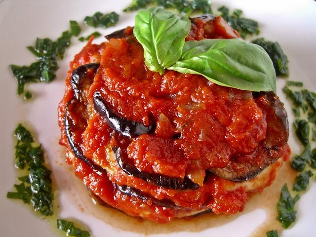 parmigiana di melanzane sicilya usulu firinda patlican tarifi