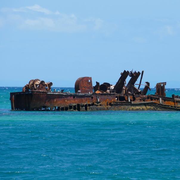 Tangalooma Wrecks Wrack Schiffswrack Moreton Island