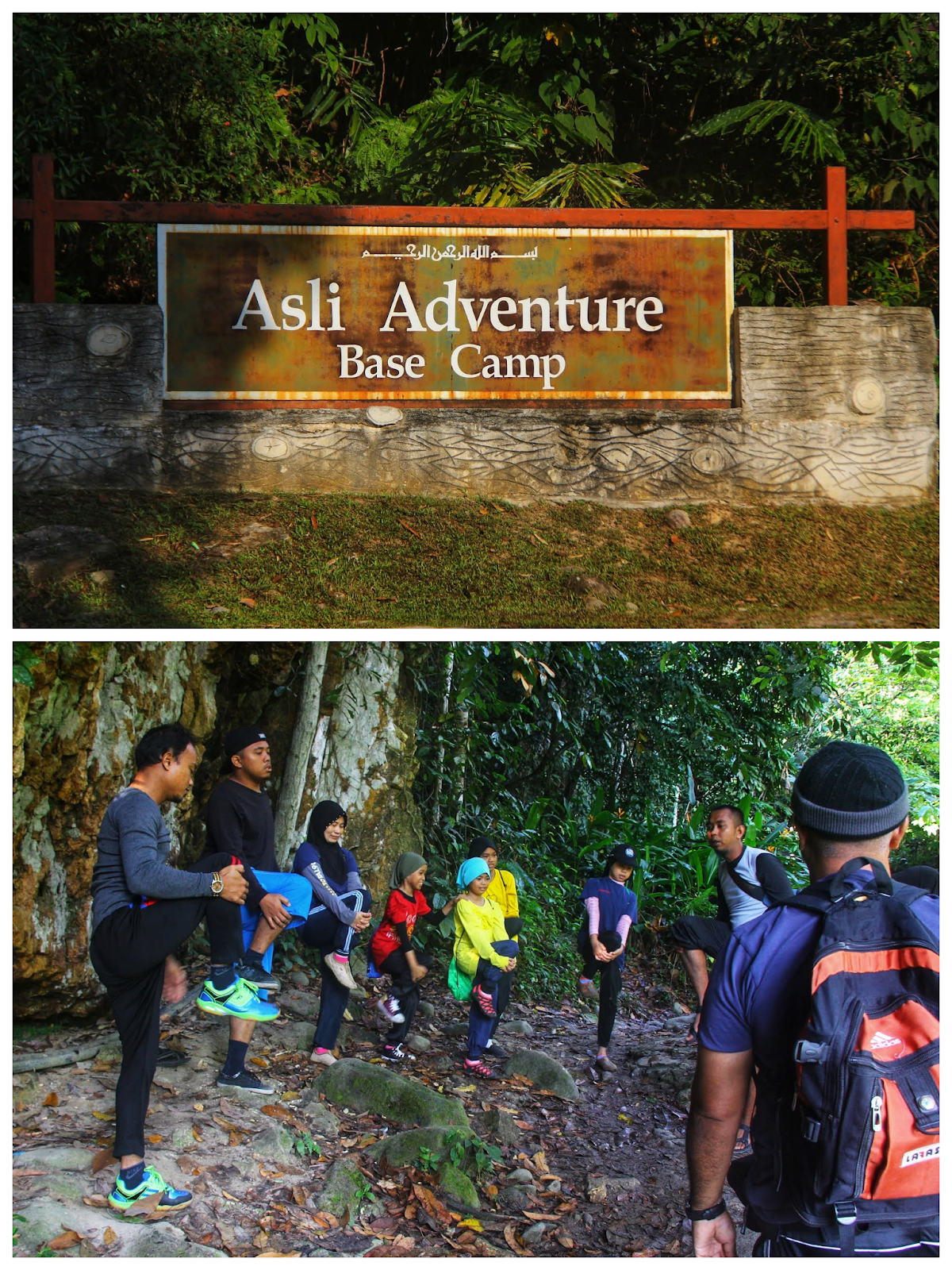Air Terjun Lepoh Asli Adventure Base Camp