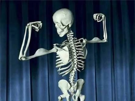 Reduction of bone strength can result to changes in weight