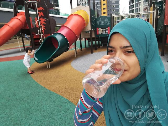 Minum Air Masak