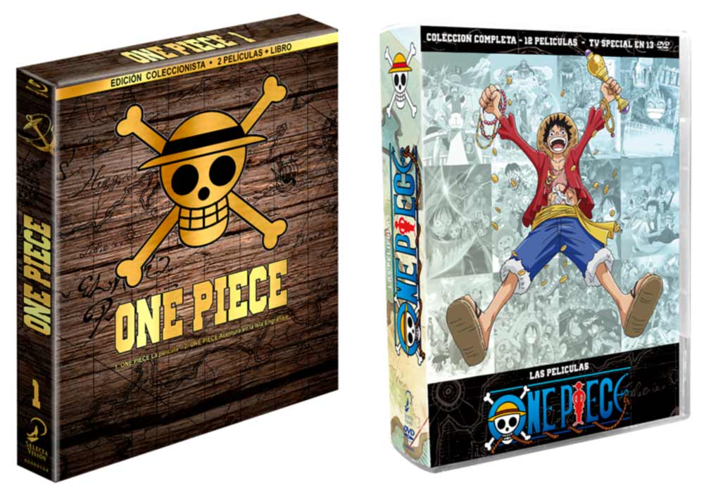 One Piece: las peliculas BD/DVD (Selecta Vision)