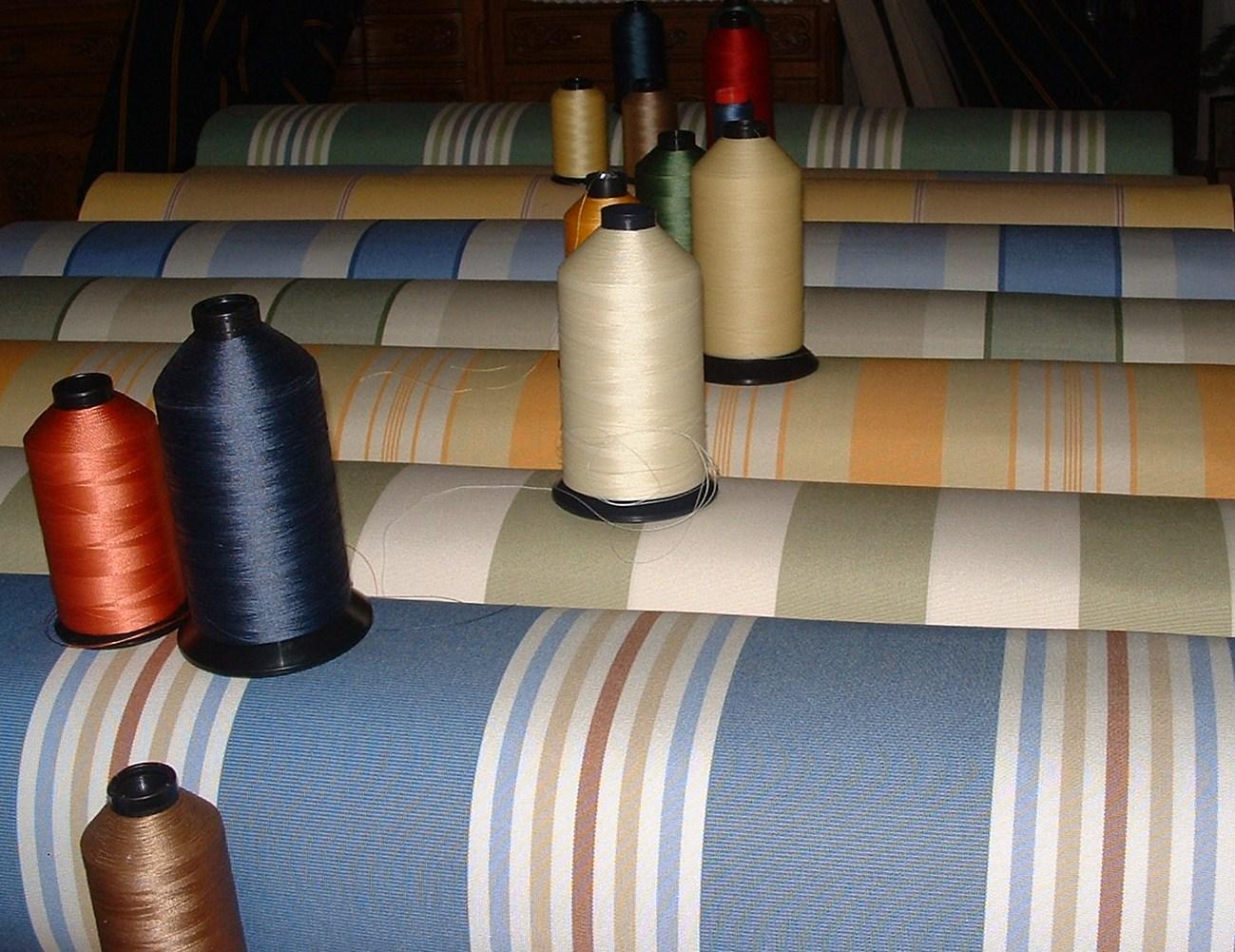 Vintage Awnings Spring 2012 Vintage Trailer Awning Fabric