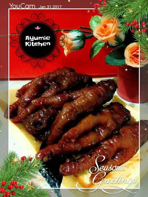 Resep dimsum ceker ayam pedas ala rumah makan ciwidey