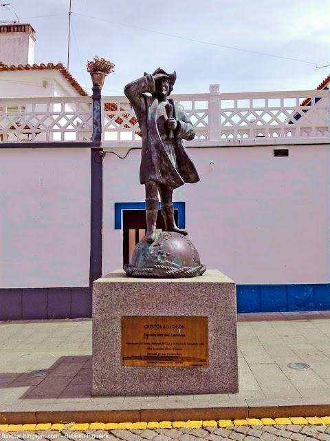CUBA - ALENTEJO - ESTÁTUA DE CRISTÓVÃO COLOMBO