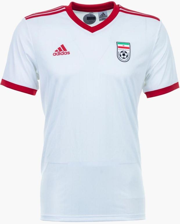 56b8121163 Adidas lança a nova camisa titular do Irã para a Copa do Mundo