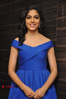 Actress Ritu Varma Pos in Blue Short Dress at Keshava Telugu Movie Audio Launch .COM 0009.jpg